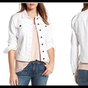 Kut White Denim Jacket-XS
